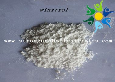 China CAS 10418-03-8 USP Oral Legal Anabolic Steroids High Purity Winstrol Raw Powder supplier