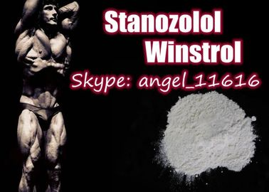 China Pharmaceutical Stanozolol Oral Steroids Winstrol White Powder For Muscle Growth supplier