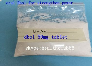China 50MG Tablet Methandienone Steroids CAS 10418-03-8 Dianabol 25MG Pills For Man supplier