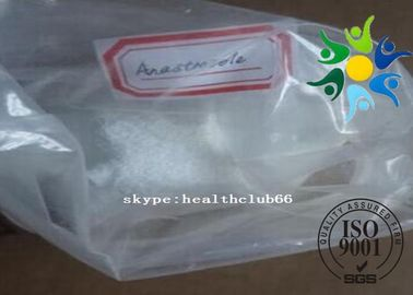 China CAS 120511-73-1 Anti Estrogen Steroids Anastrozole Arimidex For Breast Cancer Treatment distributor