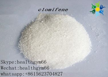 China Nature Anti Estrogen Steroids For Body Building , Clomid Clomiphene Citrate CAS 50-41-9 distributor
