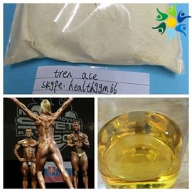 China Healthy Yellow Liquid Tren Ace Injectable Anabolic Steroids Trenbolone Acetate 100MG/ML factory