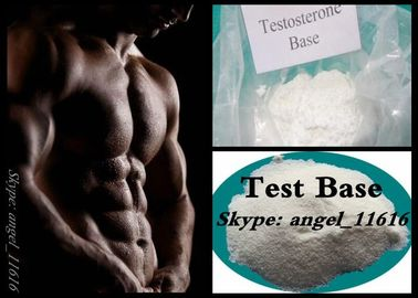 China 98% High Purity Testosterone Anabolic Steroid Powder Test Base CAS No 58-22-0 factory
